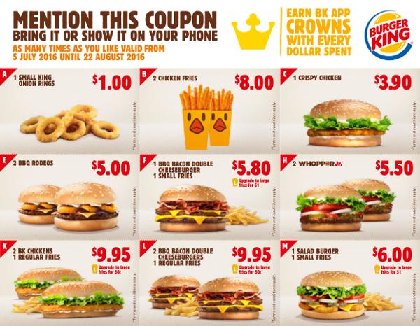 Burger king coupons nz 2019