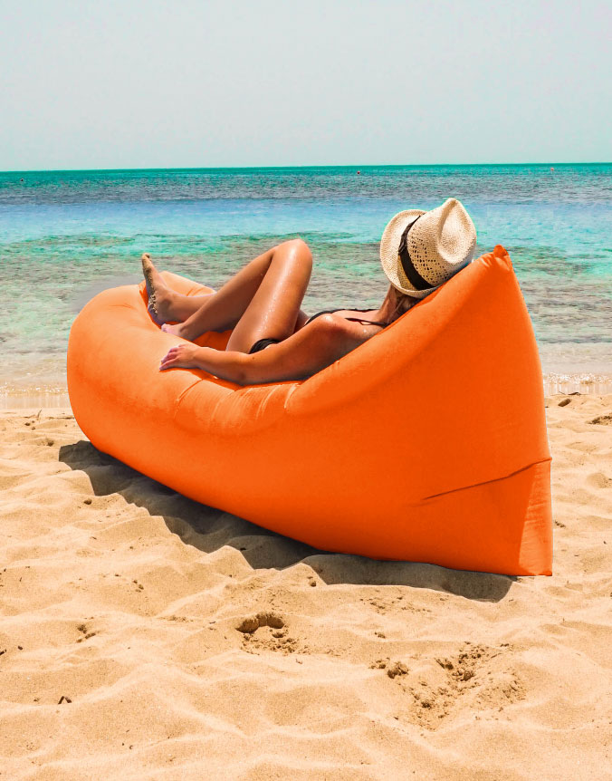 Bargainer-air-couch-lounger-sofa-beach-inflatable-orange