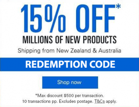 eBay – Shop from NZ retailers and save up to $500