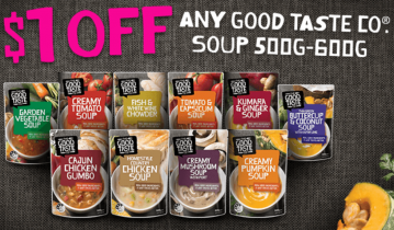 Good Taste Company Soups Discount Coupon